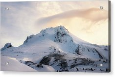 Acrylic Print featuring the photograph Majestic Mt. Hood by Ryan Manuel