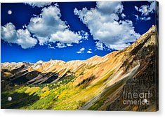 Majestic San Juan Mountains  Acrylic Print by Scott and Amanda Anderson