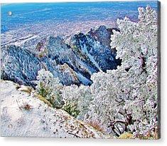 Majestic Snow Acrylic Print