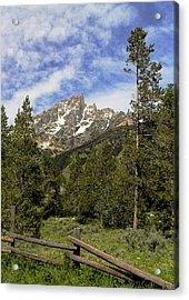 Acrylic Print featuring the photograph Majestic Splendor by Dan Wells
