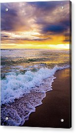 Acrylic Print featuring the photograph Majestic Sunset In Paradise by Shelby Young