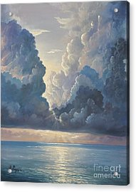 Acrylic Print featuring the painting Majesty by Rosario Piazza