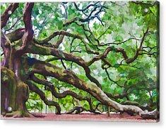 Majesty - The Angel Oak Acrylic Print