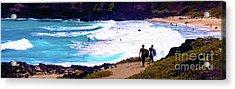 Panorama - Makapu'u Beach Park, Oahu, Hawaii  Acrylic Print