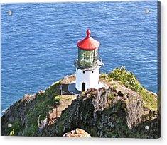 Makapuu Lighthouse 1065 Acrylic Print by Michael Peychich