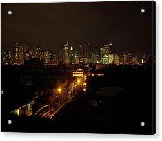 Makati Skycraper Acrylic Print by SAIGON De Manila