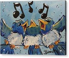 Make A Joyful Noise Acrylic Print