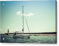 Acrylic Print featuring the photograph Make Headway by Joel Witmeyer