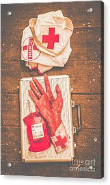 Make Your Own Frankenstein Medical Kit  Acrylic Print