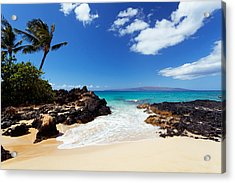 Makena Cove Acrylic Print