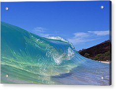 Makena Glass Acrylic Print