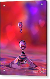 Acrylic Print featuring the photograph Making A Splash by Darren Fisher