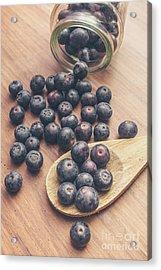 Making Blueberry Jam Acrylic Print