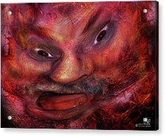Making Faces  Acrylic Print