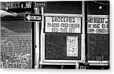 Making Groceries In New Orleans Acrylic Print