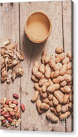 Making Peanut Butter Acrylic Print by Jorgo Photography - Wall Art Gallery