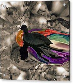 Making Waves Acrylic Print by Ayesha DeLorenzo