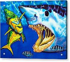 Mako Shark - Salt Water Game Fish Acrylic Print