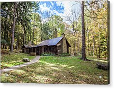 Acrylic Print featuring the photograph Malabar Cabin by Lon Dittrick