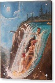 Malabeam's Sacrifice Acrylic Print by Nicholas Paul
