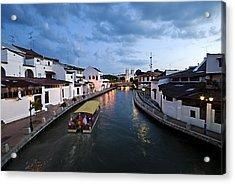 Malacca River Acrylic Print