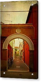 Malamocco Arch No1 Acrylic Print