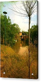 Acrylic Print featuring the photograph Malamocco Canal No2 by Anne Kotan