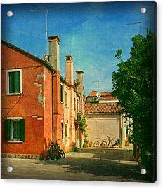Malamocco Corner No1 Acrylic Print