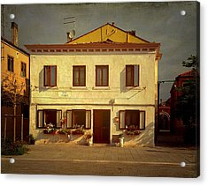 Malamocco House No1 Acrylic Print