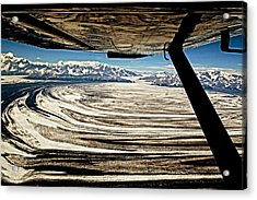 Malaspina Glacier Alaska Acrylic Print