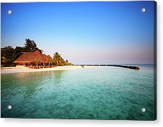 Maldives Morning Acrylic Print