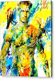 Male Form Acrylic Print