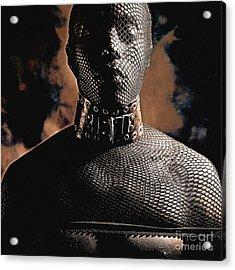 Male Masked Acrylic Print