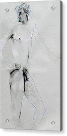 Male Nude 4803 Acrylic Print