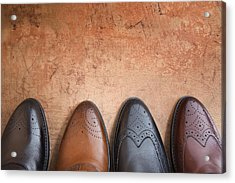 Acrylic Print featuring the photograph Male Shoes by Andrey  Godyaykin