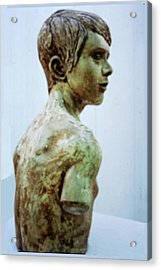 Male Youth Acrylic Print by Sarah Biondo