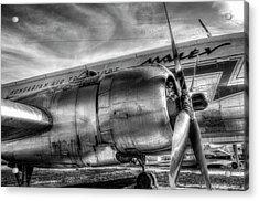 Malev Ilyushin Il-14 Acrylic Print
