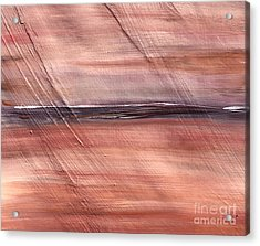 Malibu #32 Seascape Landscape Original Fine Art Acrylic On Canvas Acrylic Print