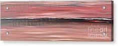 Malibu #34 Seascape Landscape Original Fine Art Acrylic On Canvas Acrylic Print