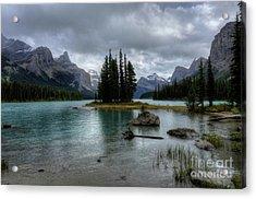 Maligne Lake Spirit Island Jasper National Park Alberta Canada Acrylic Print