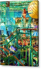 Mall Of America Acrylic Print by Rich Beer
