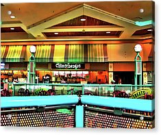 Mall Scape Acrylic Print by Francesco Roncone