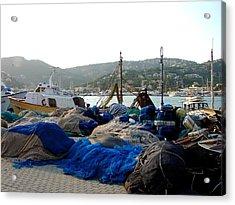 Acrylic Print featuring the photograph Mallorca 2 by Ana Maria Edulescu