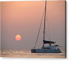 Acrylic Print featuring the photograph Mallorca 3 by Ana Maria Edulescu