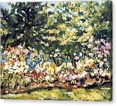 Mallquist's Garden Acrylic Print