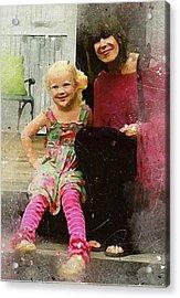 Mally And Mimi Acrylic Print