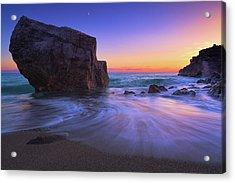 Malpasso Beach Acrylic Print