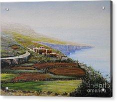 Malta Fawwara Chapel Acrylic Print