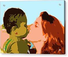 Mama And Me Acrylic Print