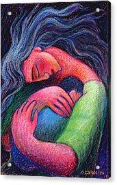 Mama Mama O How I Miss How You Hold Me Acrylic Print